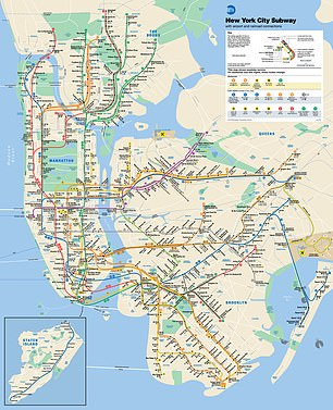 Clarkshared NYC subway maps as he instructed people in encrypted chat rooms on where exactly to attack