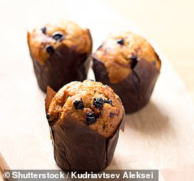 Sultana muffins with carrot and apple