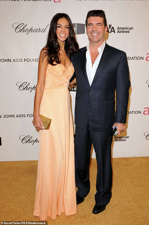 Doing well: The mogul's ex Terri Seymour also revealed that he has even taken a few steps on Monday, just two days after the accident (pictured together in 2008)