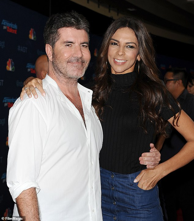 Long way to go: Terri, who dated the mogul from 2002 until 2008 and has remained on good terms with her ex, said Simon is now facing lots of physical therapy (pictured in 2016)