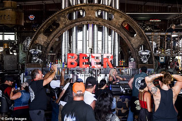 On Sunday the Full Throttle Saloon attracted hundreds of music lovers to hear a ZZ Top tribute