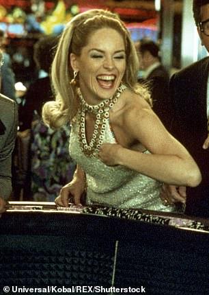 She was on a winning streak: And she dazzled inMartin Scorsese's 1995 mob film Casino