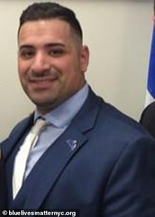 Founder of Blue Lives Matter NYC, Sgt. Joe Imperatrice, said in a statement that he just wanted 'to be granted the same privilege to bring to light a cause that we so believe in would change the trajectory of equality for all those with the same interest.