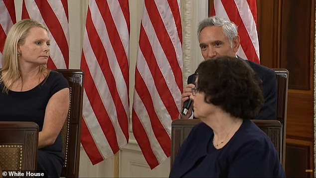 Trump recognized Dr. Scott Atlas at the White House on Wednesday