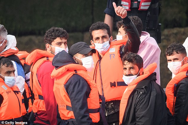 Hundreds of migrants have crossed the dangerous waters of the English Channel on small boats in the past 10 days