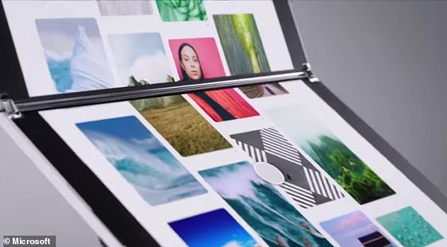 The Surface Neo has two screens connected with a 360-degree hinge for seamless opening and closing of the device. And the notepad may have two separate screen, but Microsoft has designed it to let users to spread a single screen across for a larger view