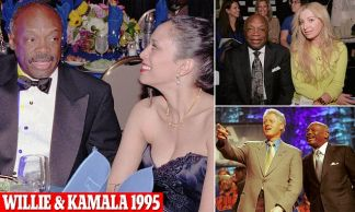 How 29-year-old Kamala Harris began an affair with powerful San Francisco politician Willie Brown, then 60 and married, who appointed her to two lucrative positions only to dump her after he was voted first black mayor of the city