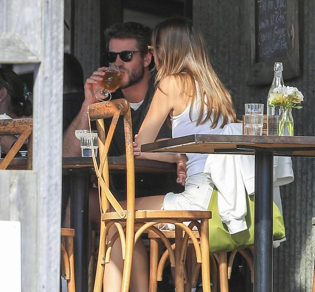 Gone: Liam split from ex-wife Miley Cyrus in August last year