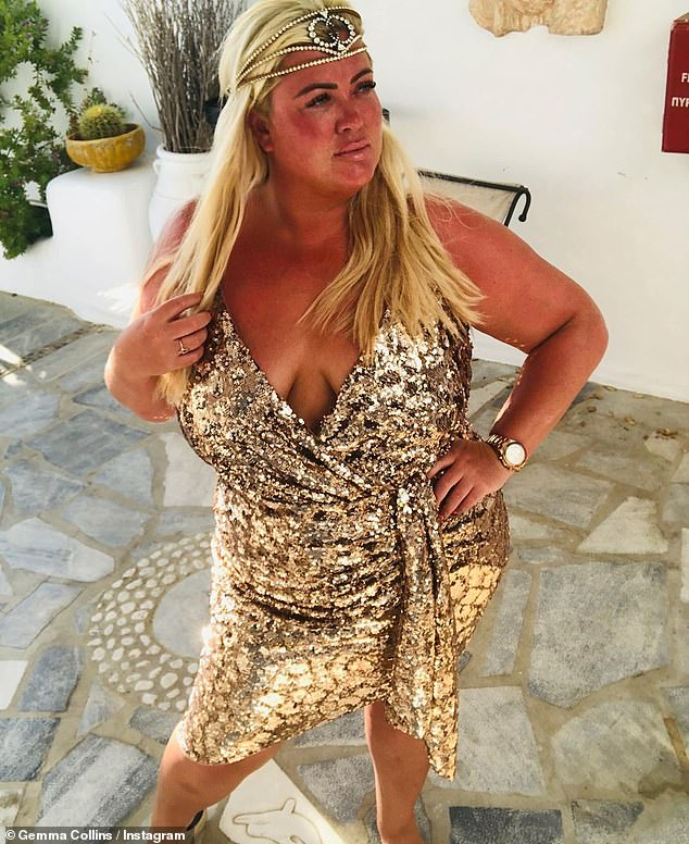 Diva forever: In recent weeks, the GC has been enjoying time away from the UK in the glorious European sun as she filmed her upcoming series, Diva Forever, abroad