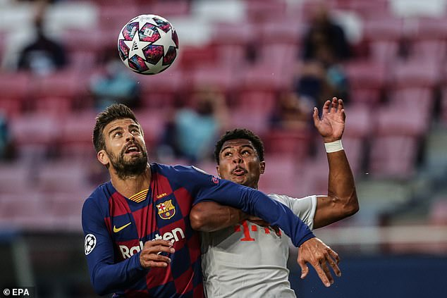 Pique included himself in his review, offering to leave the club if new blood is needed