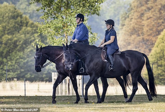 Andrew has tried his best to make himself invisible since that catastrophic interview with Emily Maitlis on Newsnight nine months ago. Perhaps his brief appearance this week riding through the grounds of Windsor Castle was designed to demonstrate that life is going on as normal for him. But it's not