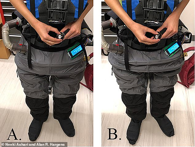 A portable vacuum system in the suit applies negative pressure, shifting blood flow to the lower body and generating ground-reaction forces to preserve bone and muscle density.'Once space travel becomes commercialized, this device may ensure the health of future civilian space travelers,'Ashari said