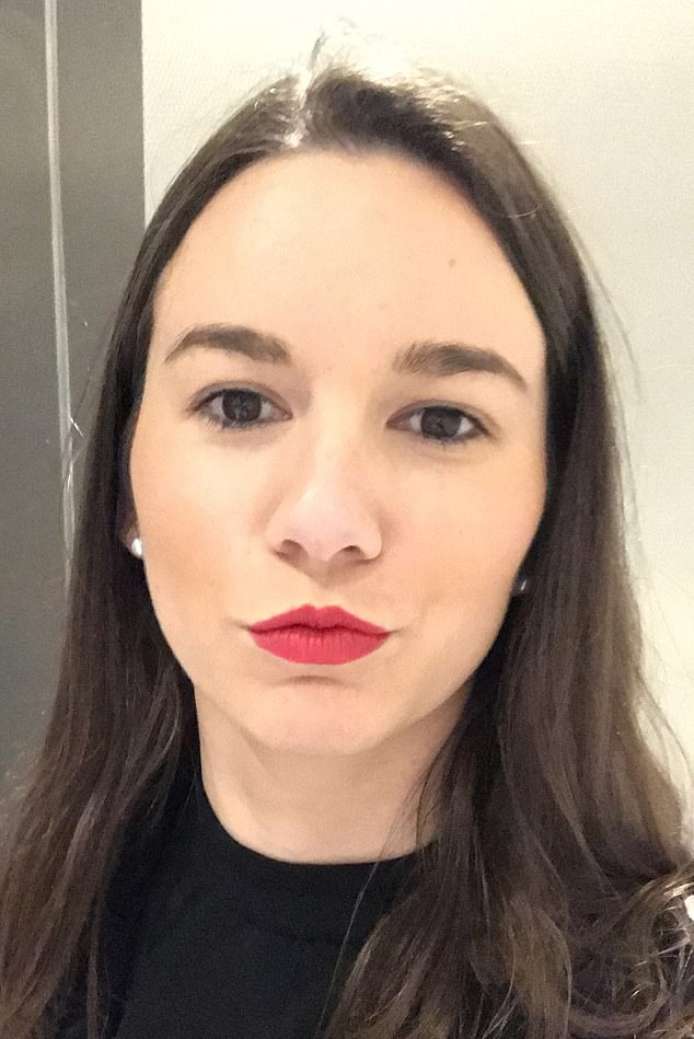 Caroline Desforges (pictured), 26, who completed an Aldi shop request last week, said she decided to become an Airtasker when her hours in administration reduced due to the pandemic