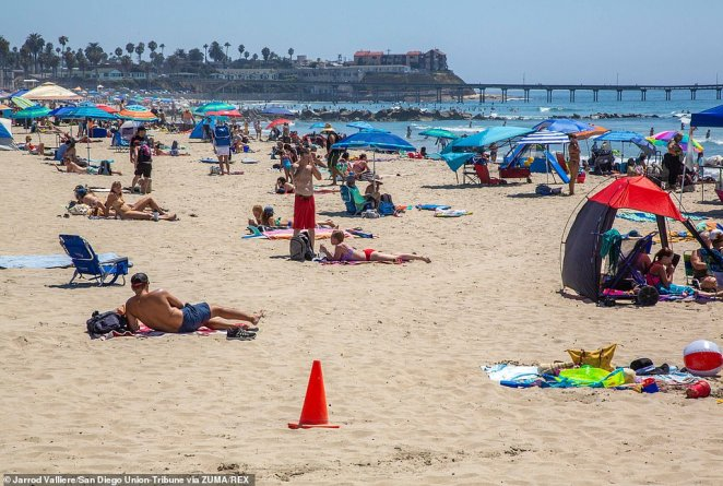 While San Diego saw clear skies, some areas of California were experiencing high clouds from tropical storm Elida causing there to be a crimp output in their solar panels