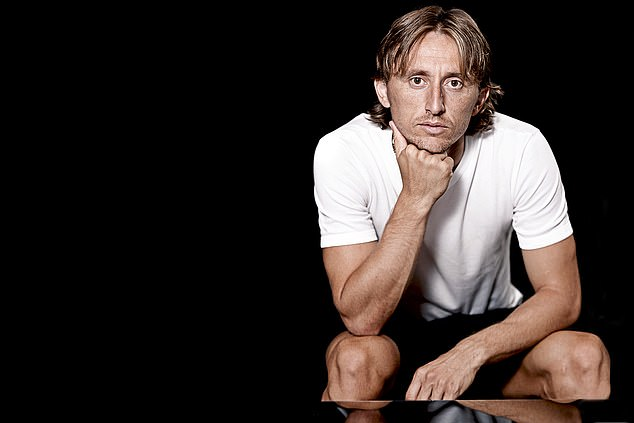 Luka Modric has a steel beneath the apparent frailty that comes from what he endured as a kid