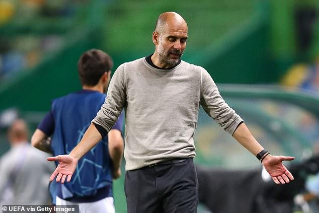 DANNY MURPHY: Manchester City were unlucky but Pep Guardiola seems ...