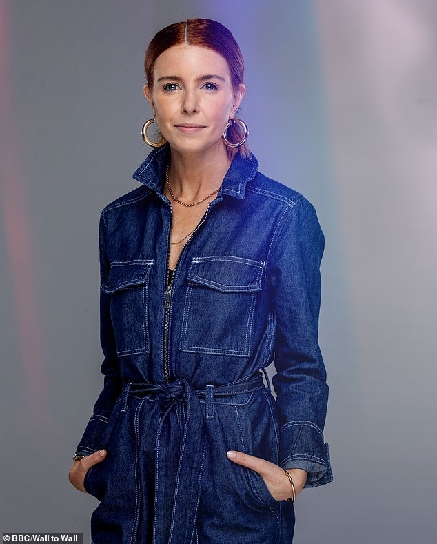 Cashing in:Stacey Dooley has reportedly received a £125,000 boost in her earnings after being crowned Strictly Come Dancing champion in 2018