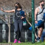 Bachelor starMarlaina McPhillips gets caught doing workout alongside a hunky PT