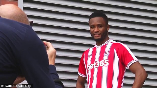 Former Chelsea midfielder John Obi Mikel signs for Stoke on a one-year deal   Daily Mail Online