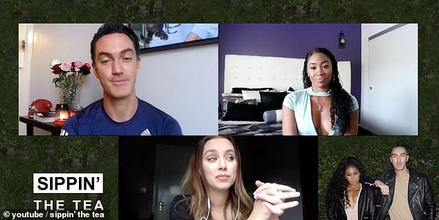 Candid: In the all-new Sippin 'The Tea video podcast which airs Tuesday at 5 p.m. on YouTube, Una opened up to hosts Ariane Andrew and Matthew Dillon about life after love.