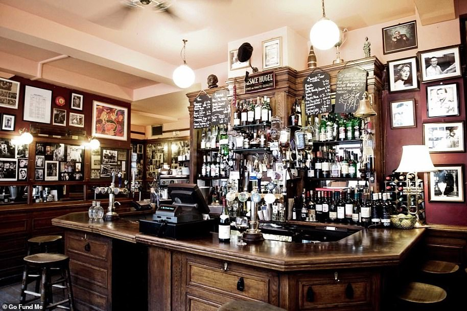 The boozer has been serving customers for over 100 years but faced months without taking in any money
