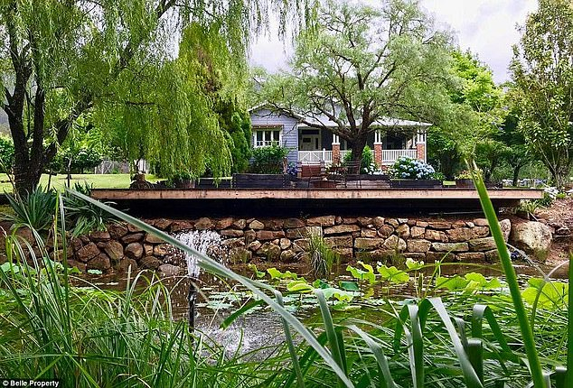 Pricey: Tim and his wife only recently sold their Kangaroo Valley estate for more than $4 million to Australian director, George Miller