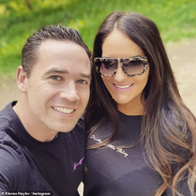 Loved: Former stripper is now engaged to mother-of-one Michelle Pentecost