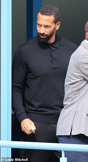 Ferdinand leaves at Crawley Magistrates Court