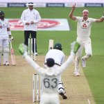 Stuart Broad leaps up to second in ICC Test bowler rankings