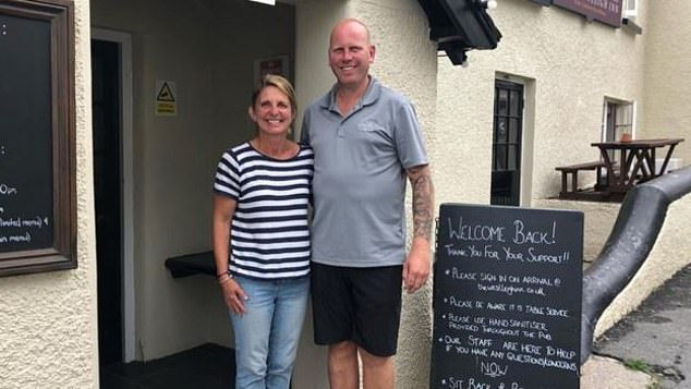 Landlady of the Westleigh Inn in Bideford, Devon, Steph Dyer, told the BBC they were pulling the plug on the scheme due to the 'physical and mental stress' being put on their staff