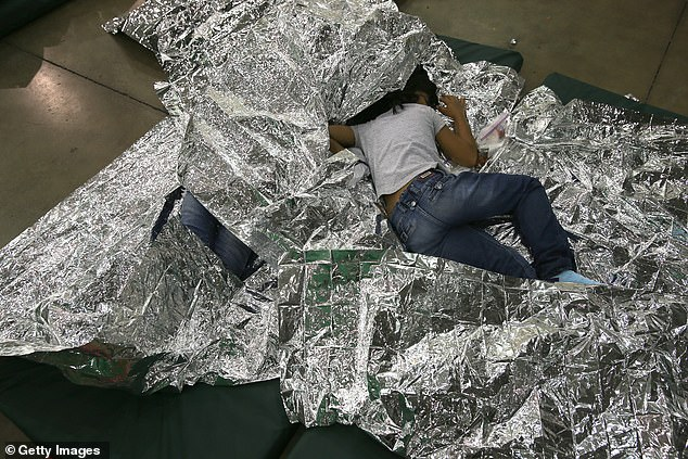 The photos went viral during the immigration debate and several Democrats removed them from their social media accounts after it was revealed they were taken in 2014