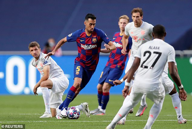 Sergio Busquets is another experienced player the club now appear ready to give up