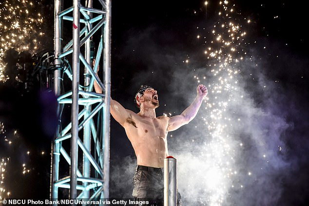 'We are shocked': The U.S. broadcaster of Ninja Warrior, NBC, has also decided to remove any scenes featuring Drew (pictured) from an episode set to air on Monday, September 7