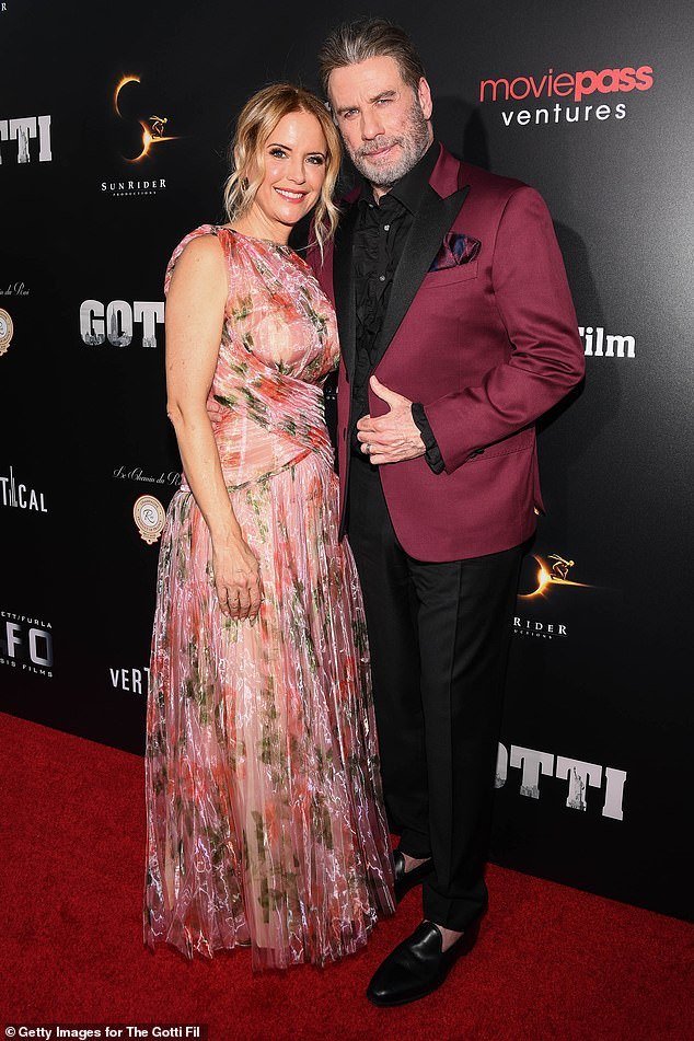 The couple appeared in the 2018 crime drama Gotti, playing husband and wife.  They were pictured during the film's New York debut in 2018