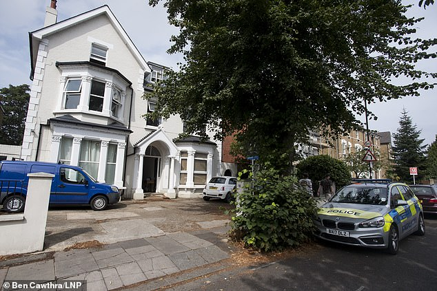 Acton's house where Dylan, 10, was found dead.  The boy would have lived with his mother