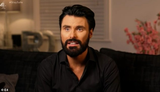 'I don't want to be like Chlamydia!'Rylan Clark-Neal has spoken out about his fears of over-exposure on TV