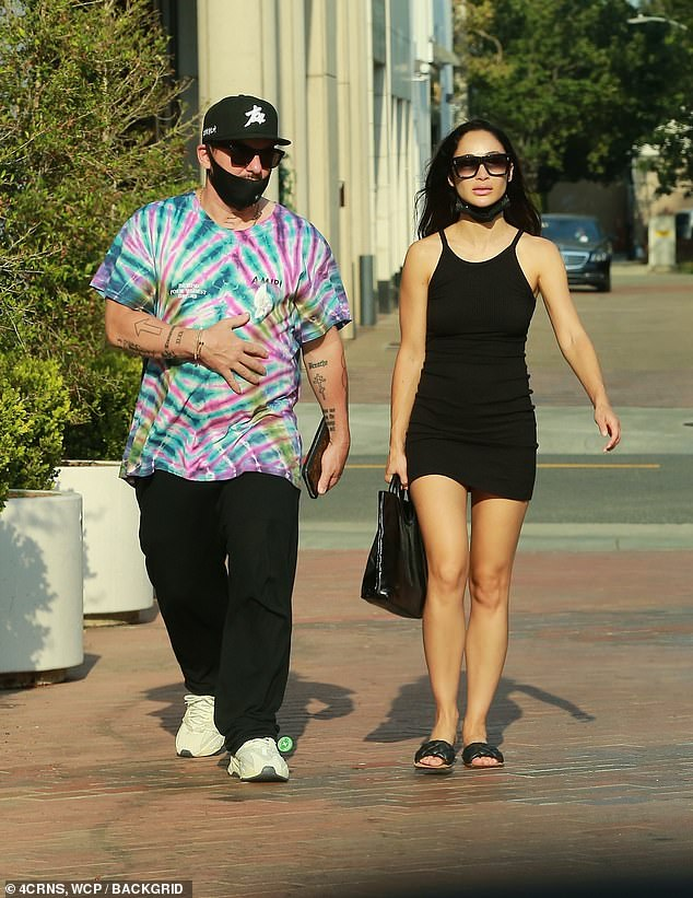 Cara Santana and Jared Leto's brother Shannon go for coffee