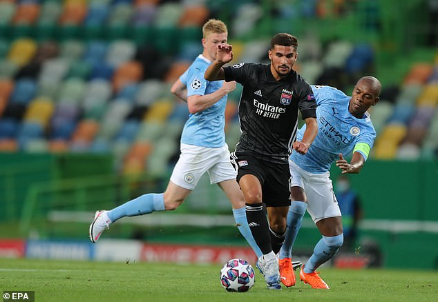 Lyon have confirmed that midfielder Houssem Aouar has tested positive for Covid-19
