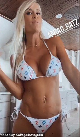 Ashley describes herself as a model and influencer. She has more than 300,000 TikTok followers and often posts from the couple's home in Miramar Beach, Florida