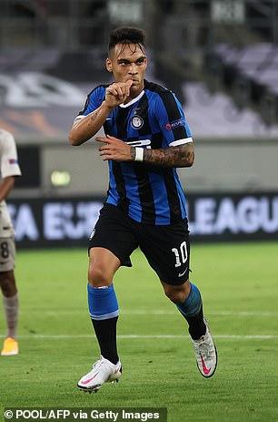 Lautaro Martinez could help Inter Milan win their firstEuropean title in a decade