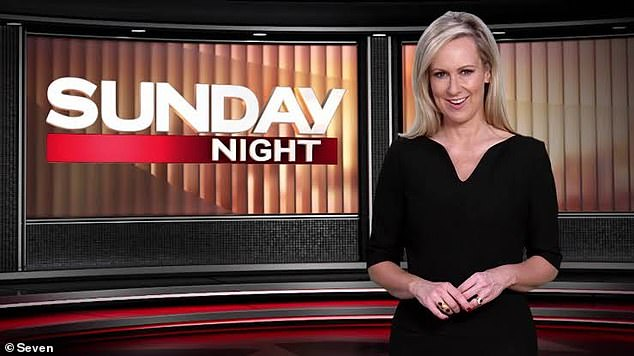 Axed: In 2015, she was announced as host and senior correspondent for Sunday Night, but the current affairs show was cancelled in October last year as a cost-cutting measure