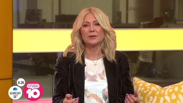 Recession: The news comes a week after Channel 10 axed 25 staffers in response to the economic downturn. The likes of Kerri-Anne Kennerley (pictured), Tim Bailey and Natarsha Belling are all leaving the network