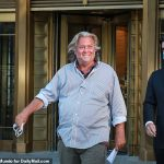 Steve Bannon is back podcasting the day after being dragged off billionaire's yacht in handcuffs