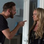 Eastenders star Rita Simons is pictured without her wedding ring after splitting from husband