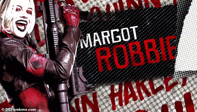 She's back! Margot Robbie will be reprising her role as Harley Quinn -- but this go-around she will be decked out a red and black leather ensemble