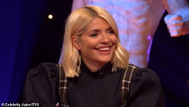New face:Holly Willoughby left the show following a 12-year stint