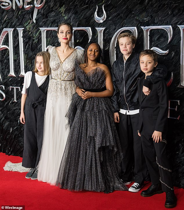 Staying Connected: Angelina made the statement while discussing her new movie The One And Only Ivan, which she became interested in after her daughter Shilo, 14, read it;  presented in October 2019