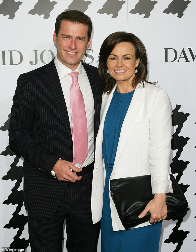 What does Lisa know? Karl Stefanovic, 46, reportedly fears his former Today co-host Lisa Wilkinson, 50, will discuss his marriage breakdown' in her controversial new memoir. Pictured: Karl and Lisa in 2009
