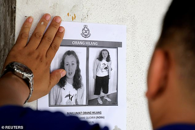 The 15-year-old's disappearance sparked a ten-day rainforest hunt involving helicopters, sniffer dogs and hundreds of volunteers.