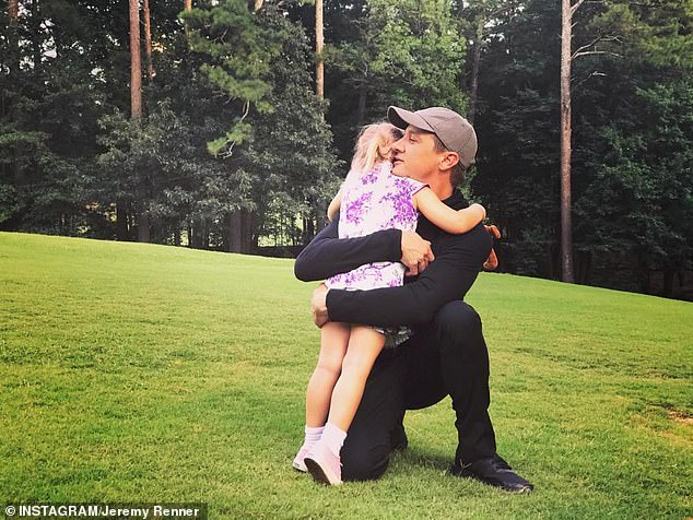 Pacheco has accused Renner of regularly taking drugs while he was supposed to be looking after Ava, firing a gun in the house and threatening to kill himself while Ava slept